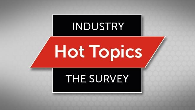 Sagen Sie uns Ihre Meinung zu den aktuellsten wichtigen Themen der Branche - und finden Sie heraus, was Ihre Kollegen denken!