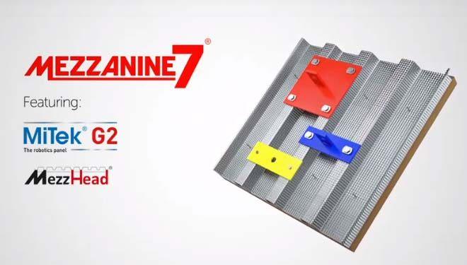 Mezzanine7 für Zukunftssichere Zwischengeschosse